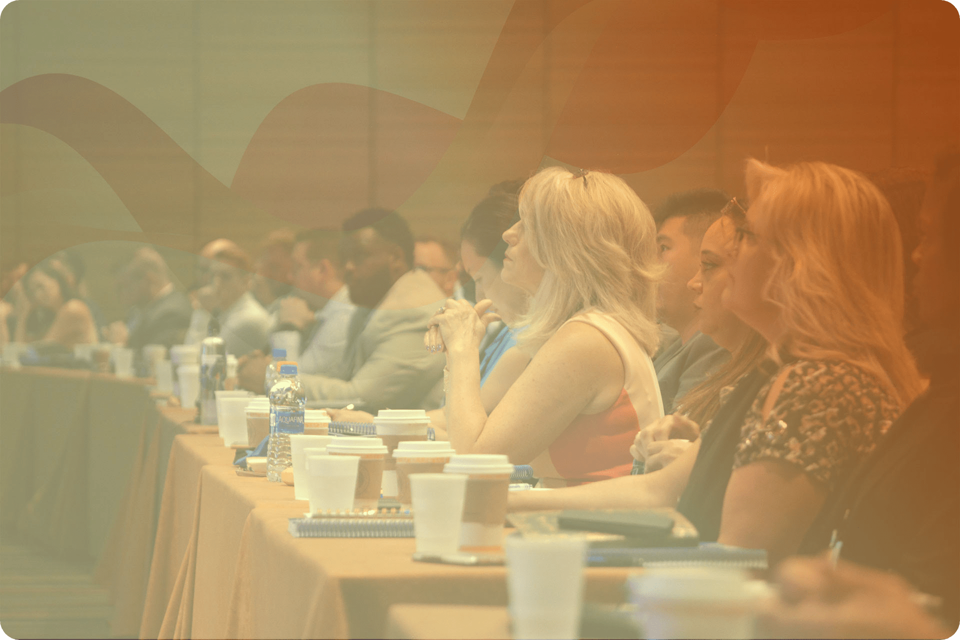 Conference transcription | Conference goers